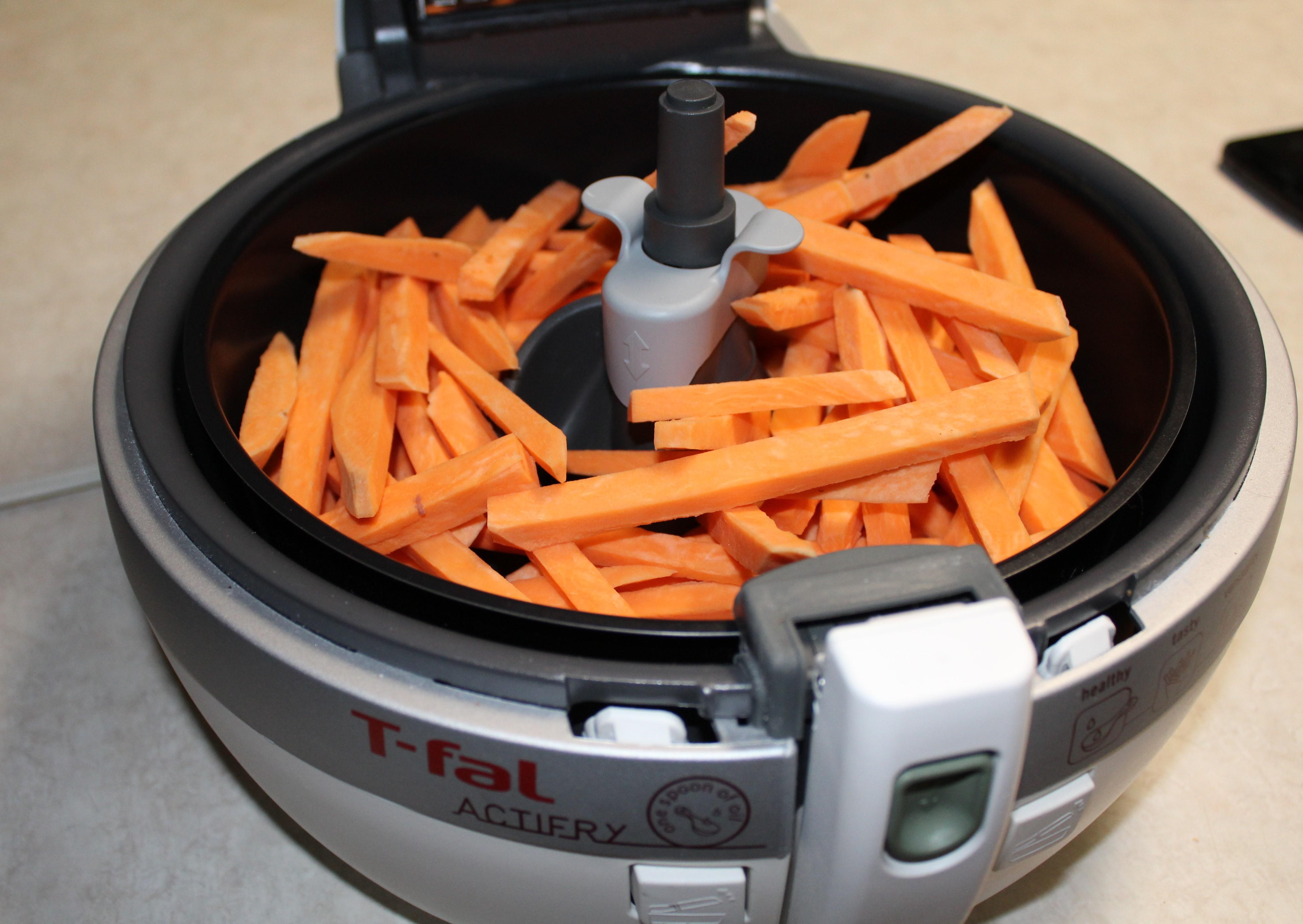 T Fal Actifry Paprika Sweet Potato Fries